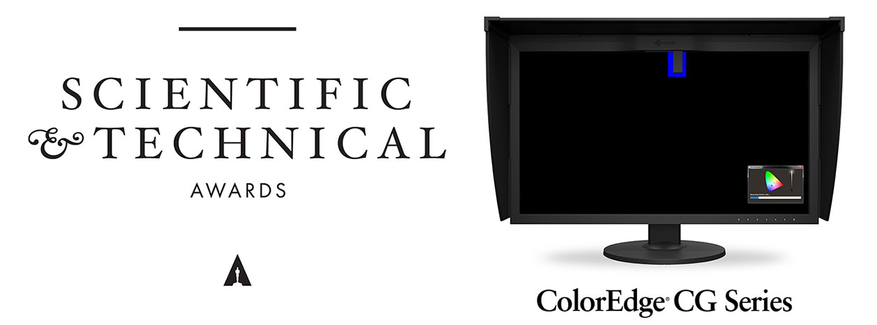 Academy of Motion Picture Arts and Sciences Scientific and Technical Award for ColorEdge Self-Calibration Monitors