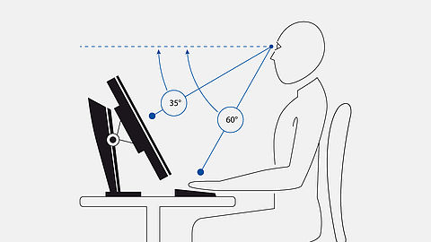 Document Imaging-LCDs mit Ergonomie-Features
