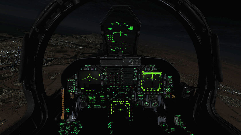 EIZO Gaming Flight Simulator