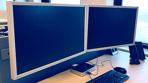 EIZO office monitors in use at the IJsselgemeenten Municipal Association