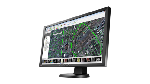 Excellent image quality for geographic information