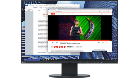 LCD monitors with top image quality