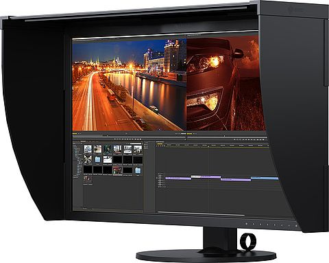 Monitor per l'editing video per compositing