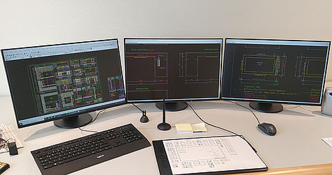Multi-monitor operation of EIZO monitors for CAD applications