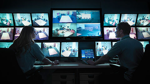 Professional monitors for security and surveillance applications