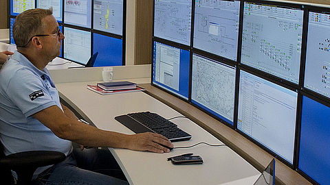 Reliable monitors for control rooms and control centres