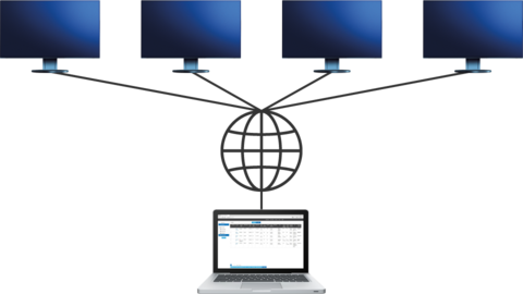 Screen InStyle Server: Server application for network monitor management