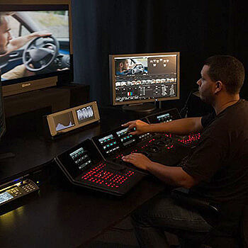 Video Editing, Post Production und Color Grading