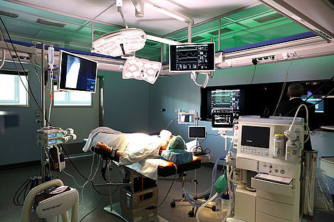 Workflow in the OR room